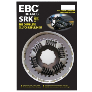 Ensemble d'embrayage complet - Série SRK EBC  Kawasaki - Kevlar