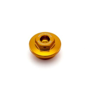 Couvercle de filtre à l'huile en aluminium DRC - ZETA ZS89-2404