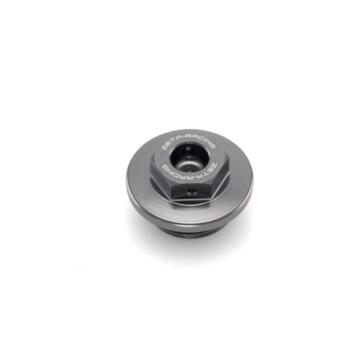 Couvercle de filtre à l'huile en aluminium DRC - ZETA ZS89-2408
