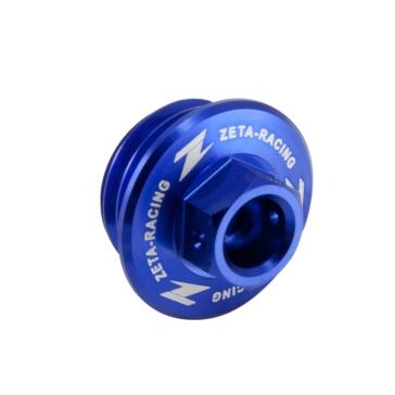 Bouchon de remplissage d'huile DRC - ZETA Bleu - ZE89-2412