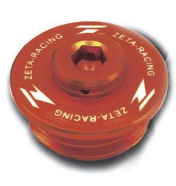 Bouchon de remplissage d'huile DRC - ZETA Orange - ZE89-2416