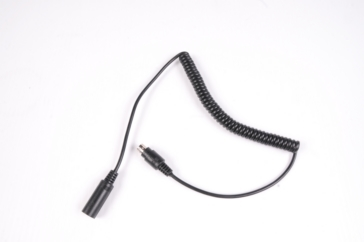 Spiral cable IMC Coiled Extension for Helmet Headset
