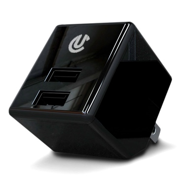 Uclear Dual AC/USB Charger Adapter Electronics