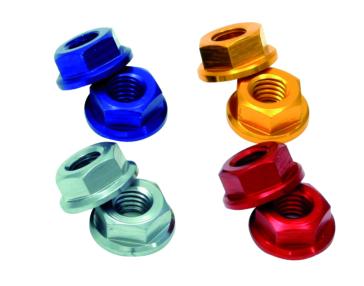 Flange DRC - ZETA Aluminum Nuts