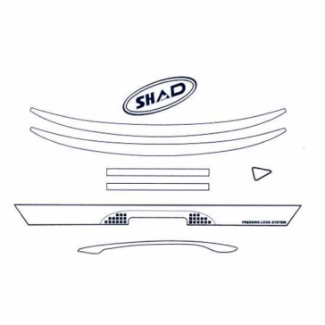 SHAD SH39 Stickers