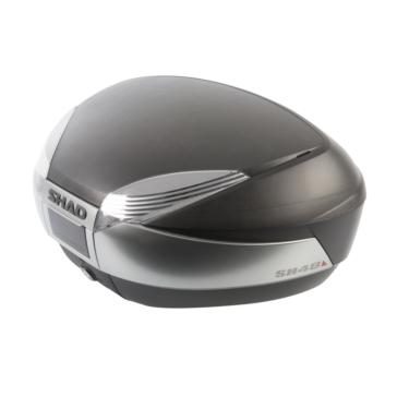 Valise supérieure SH48 SHAD Supérieure - Titane, Noir