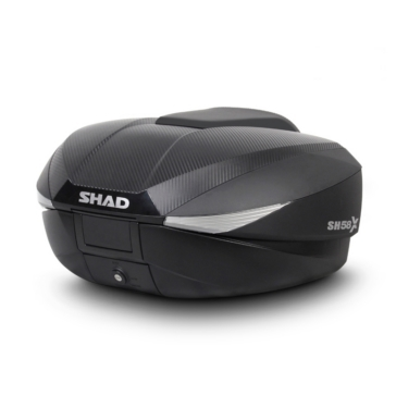 Shad SH58X Expandable and Top Case
