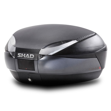 Shad SH48 Top Case with Carbon Cover & Backrest