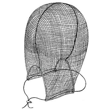 Filet de tête anti-moustique ACTION Pour la tête