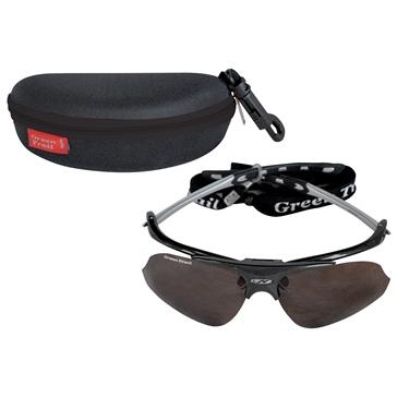 Black ACTION Glasse, Polarized Fishing «Flip-up»