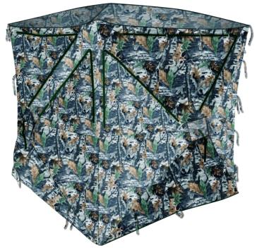 ACTION Hunting Blind Camouflage type SNIPER Deep Wood Camo