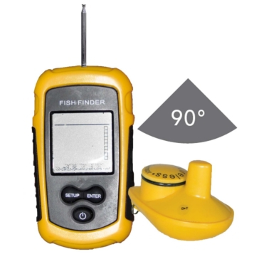 Action 90° Portable Sonar