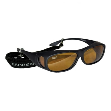 GREEN TRAIL Sunglasse for Prescription Eyewear Black