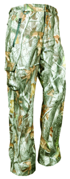 Camo (A409P) ACTION Pants, Softshell Forest HD Camo