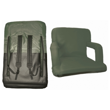 Cushion with armrests GREEN TRAIL Portable Armchair