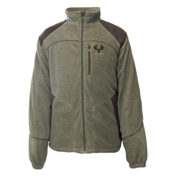 Adult - Solid Color - Regular ACTION Fleece Moose Country Jacket