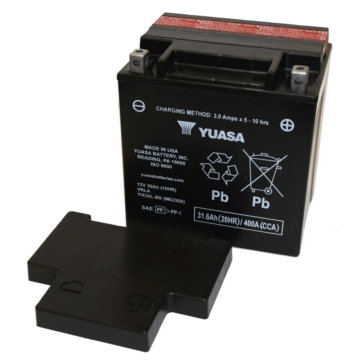 Yuasa Battery Maintenance Free AGM Factory Activated YIX30L-PW