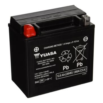 Yuasa Battery Maintenance Free AGM Factory Activated YTX14-F/A