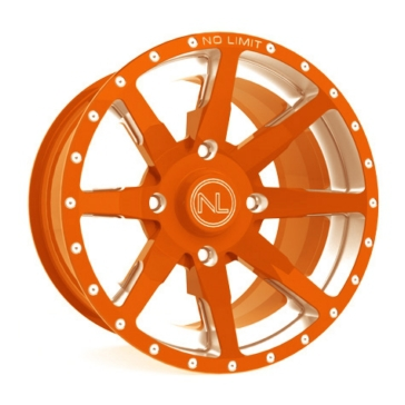 Orange NO LIMIT WHEELS Octane Wheel