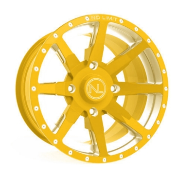 Yellow No Limit Wheels Octane Wheel