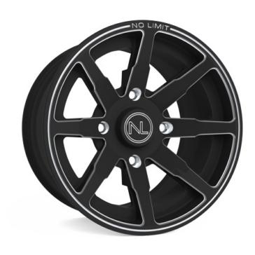 Matte Black NO LIMIT WHEELS Octane Wheel