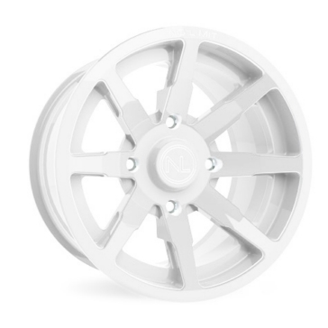 White NO LIMIT WHEELS Octane Wheel