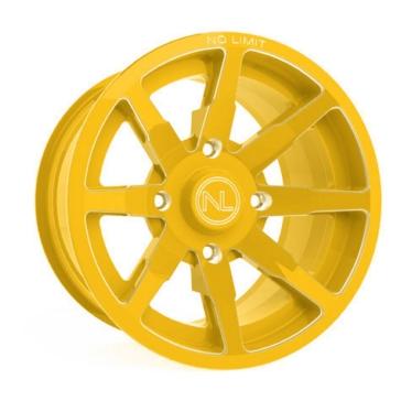 Yellow NO LIMIT WHEELS Octane Wheel