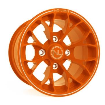 Orange NO LIMIT WHEELS Venom Wheel