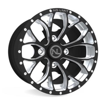 Matte Black NO LIMIT WHEELS Venom Wheel