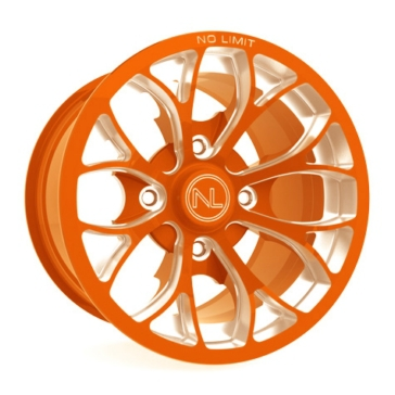 Orange No Limit Wheels Venom Wheel