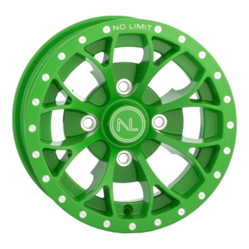 Green No Limit Wheels Venom Wheel