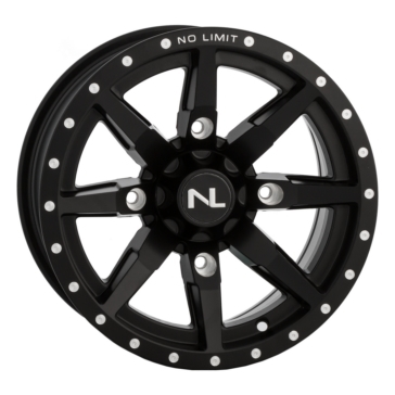 Black NO LIMIT WHEELS Octane Wheel