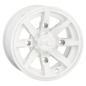 White No Limit Wheels Octane Wheel