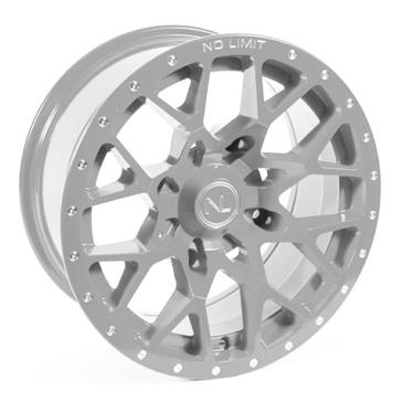 Silver NO LIMIT WHEELS Vector Wheel