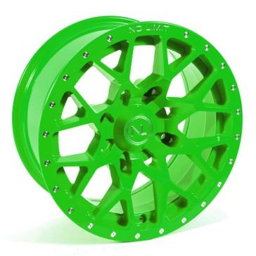 Green NO LIMIT WHEELS Vector Wheel