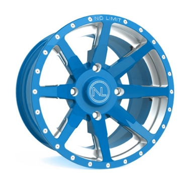 Blue NO LIMIT WHEELS Octane Wheel