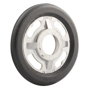 Kimpex Idler Wheel Aluminium, Rubber - Fits Ski-doo