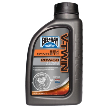 1 quart BEL-RAY Semi-Synthetic Motor Oil