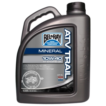 4 L BEL-RAY ATV Trail 10W40 Motor Oil