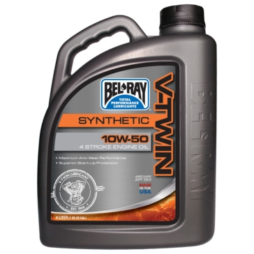 4 L BEL-RAY V-Twin Synthetic Motor Oil