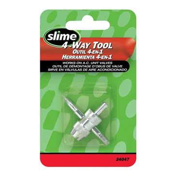 Outil pour valve / 4 utilisations SLIME