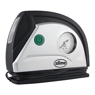 SLIME Air Compressor w/Light 300 psi