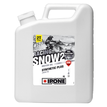 4 L IPONE Strawberry Smell Snow Racing 2 Oil