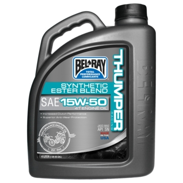 Bel-Ray Synthetic Mineral Ester Blend Motor Oil 4 L / 1.05 G