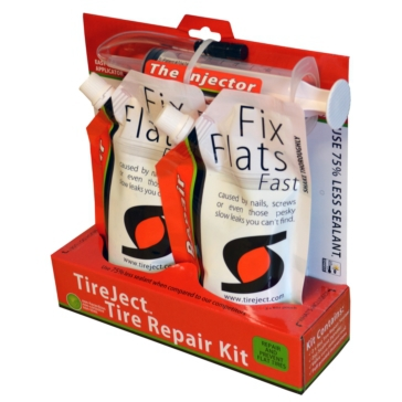 TireJect Tire Sealant Kit, 16oz Liquid