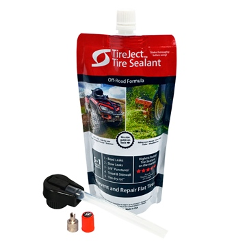 TireJect Tire sealant Kit 10 oz Liquid