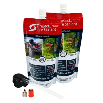 TireJect Tire sealant Kit 20 oz Liquid