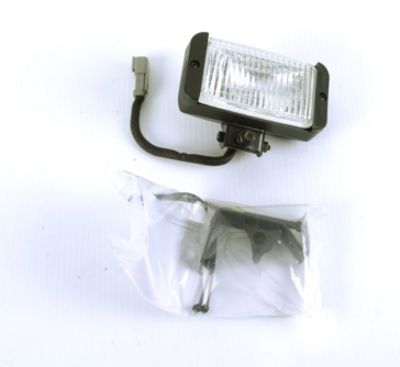 Bercomac Snowblower Light with Bracket
