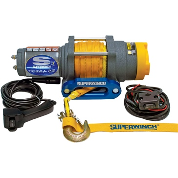 SUPERWINCH Terra Series Winch (Synthetic Rope)