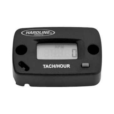 Hardline Products Hourmeter / Tachometer 2-Stroke, 4 Stroke, 2 cyl. or less - HR-8061